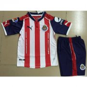 Kids Chivas Home Soccer Kit 16/17 (Shirt+Shorts)