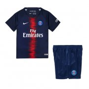 PSG Home Soccer Suits 2018/19 Shirt and Shorts Kids