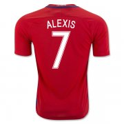 Chile Home Soccer Jersey 2016 Alexis 7
