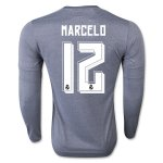Real Madrid LS Away Soccer Jersey 2015-16 MARCELO #12