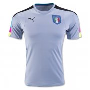 Italy Light Blue Goalkeeper Jersey 2016 Euro