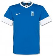2013-14 Greece Away Soccer Jersey Football Shirt