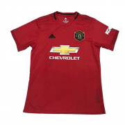 Manchester United Home Red Jerseys Shirt 19-20