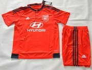 Kids LYON Away Soccer Kit 2015-16(Shirt+Shorts)