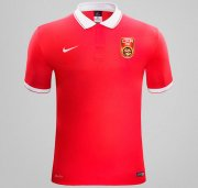 China National Home Soccer Jersey Red 2015-16
