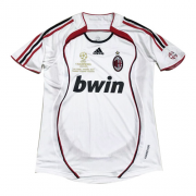 06-07 AC Milan Away White Retro Soccer Jerseys Shirt