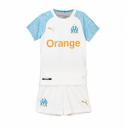 Kids 18-19 Marseilles Home Jersey Kits