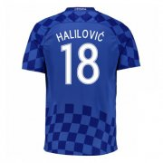 Croatia Away Soccer Jersey 2016 Halilovic 18