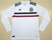 Mexico Away Soccer Jersey 2017/18 LS White