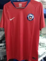 Chile Home Soccer Jersey 2018-19