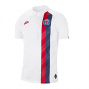 Player Version PSG 19/20 Third Away White Soccer Jerseys Shirt