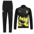 Borussia Dortmund 19/20 Black High Neck Collar Training Kit(Jacket+Trouser)