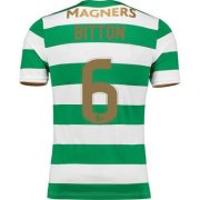 Celtic Home Soccer Jersey 2017/18 BITTON #6