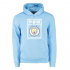 Manchester City 19/20 Light Blue Hoodie Sweater