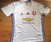 Universidad de Chile Away Soccer Jersey 2017/18 White