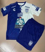 Children Pachuca Home Soccer Suits 2019/20 Shirt and Shorts