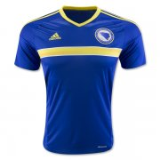 Bosnia and Herzegovina Home Soccer Jersey 2016 Euro