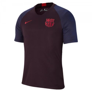 Barcelona Dark Red Training Shirt(Player Version) 19-20