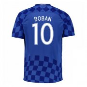 Croatia Away Soccer Jersey 2016 Boban 10