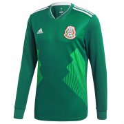 Mexico Home Soccer Jersey LS 2018 World Cup