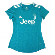 Juventus 19/20 Third Away Blue Jerseys Shirt Women