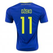 Bosnia and Herzegovina Home Soccer Jersey 2016 DZEKO #11
