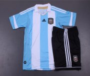 Kids Argentina 13/14 Home Kit(Shirt+shorts)