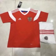 Kids Russia Home Soccer Kit 2018 World Cup (Shirt+Shorts)