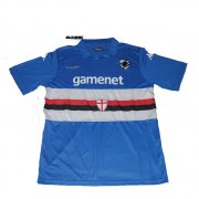 13-14 UC Sampdoria Home Blue Soccer Jersey Shirt