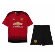 Kids 18-19 Manchester Untied Home Jersey Kits