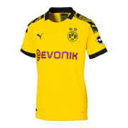 19-20 Borussia Dortmund Home Yellow Women's Jerseys Shirt