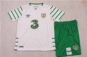 Kids Ireland Away Soccer Jersey 2016 Euro With Shorts
