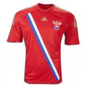 2012 Russia Home Red Soccer Jersey Shirt