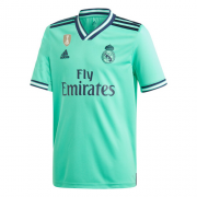 Player Version 19/20 Real Madrid Third Away Green Soccer Jerseys Shirt