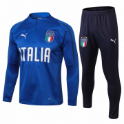 2018 Italy Training Top Blue and Pants