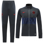 19-20 PSG Black&Navy High Neck Collar Training Kit(Jacket+Trousers)