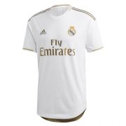 Player Version 19-20 Real Madrid Home White Soccer Jerseys Shirt