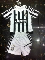 Kids Juventus Home Soccer Kits 2015-16 (Shirt+Shorts)