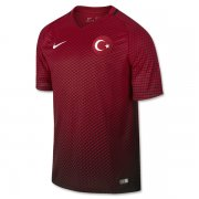 Turkey Home Soccer Jersey Euro 2016