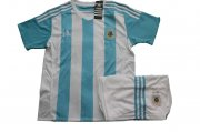 Kids Argentina Home Soccer Kit 2015-16(Shirt+Shorts)