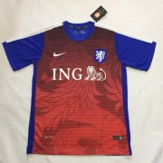 Holland Training Shirt Blue-Red 2015-16