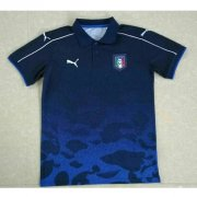 Italy Polo Shirt 2017/18 blue