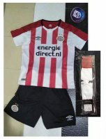 Kids PSV Eindhoven Home Soccer Jersey 2017/18 Shirt and Shorts