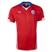 2014 FIFA World Cup Chile Home Soccer Jersey Football Shirt