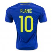 Bosnia and Herzegovina Home Soccer Jersey 2016 PJANIC #10