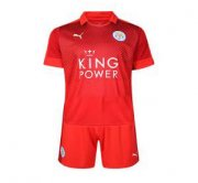 Kids Leicester City Away Soccer Kit 16/17 (Shirt+Shorts)