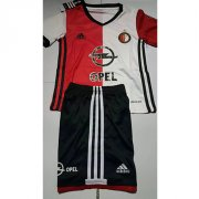 Kids Feyenoord Home Soccer Kit 16/17 (Shirt+Shorts)