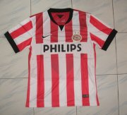 14-15 PSV Home Red Soccer Jersey