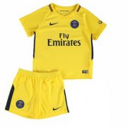 PSG Away Soccer Suits 2017/18 Shirt and Shorts Kids