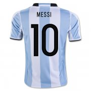 Argentina Home Soccer Jersey 2016 MESSI #10